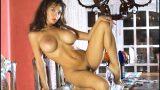 Slender Brunette Candice Cardinelle Best Strip Tease Nude Clip