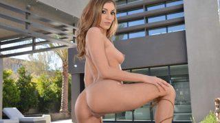 Strip Teasing Babe Watch Lovely Long Legged Moka Mora