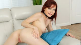 Modern Striptease From Hot Redhead Sabina Rouge