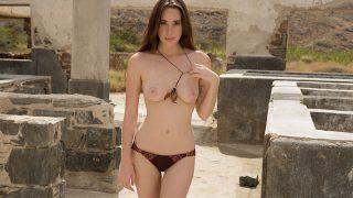 Brunette Playboy Luscious Babe Strip Watch Willa Prescott