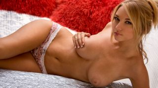 Striptease Video Hot Watch Naturally Busty Blonde Lily Ivy