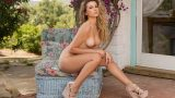 Beautiful Solo Centerfold Model Erotic Sexy Strip Watch Julie Ambrose