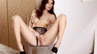 Redheaded Stunning Model Striptease Free Porn Watch Kattie Gold
