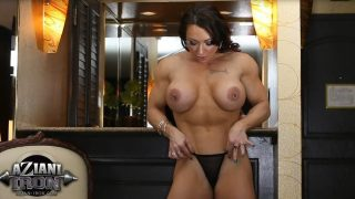 Naughty Female Bodybuilder Naked Striptease Watch Brandi Mae