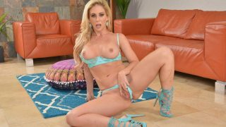 Naughty Blonde Milf Free Solo Strip Tease Watch Cherie Deville