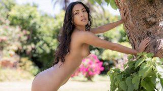 Exotic Brunette Beauty Professional Striptease Watch Chloe Rose
