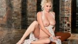 Complete Striptease Stunning Blonde Centerfold Sarah Summers