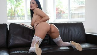 Sultry French Sexy Hot Brunette Babe Strip Video Porno Watch Anissa Kate
