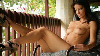 Bare Legged Sexy Brunette Nude Strip Girl Video Watch Melissa Mendiny