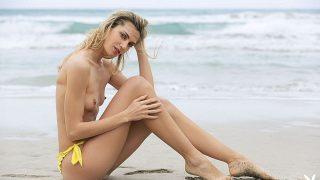 Italian Blonde Playmate Nude Model Striptease Watch Francy Torino