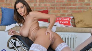 Big Boobed Romanian MILF Nude Striptease Watch Sensual Jane