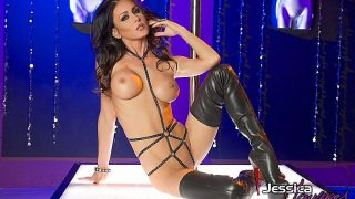 Brunette MILF In Sexy Lingerie Perfect Body Striptease Watch Jessica Jaymes