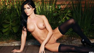 Bosomy Playboy Centerfold Nude Softcore Strip Watch Elena Romanova