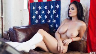 Glamorous Playboy Models Nude Sexy Stripping Watch Emma Glover