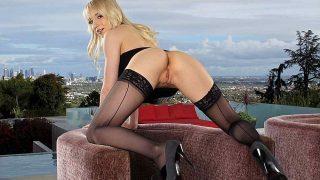 Nasty Ηot Nude Blond Striper XXX Teases Watch Ashley Jane